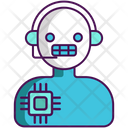 Intelliigent Assistant Assistant Support Icon