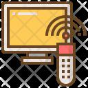 Interaction Remote Television Icon