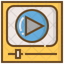 Interaction Movie Video Icon