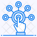 Interaction Touch Gesture Finger Tap Icon