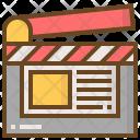 Interaction Social Video Icon