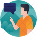 Interaction Chat Message Icon