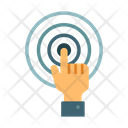 Interactive Touch Screen Icon