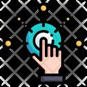 Interactive Content Interact Multimedia Icon