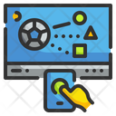 Interactive Learning Digital Interaction Icon