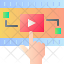 Interactive Video Ar Vr Icon