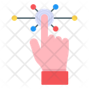 Interaction Finger Touch Interactivity Icon