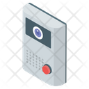 Customer Support Chat Calling Device Icon