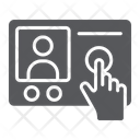 Intercom Telephone Communication Icon