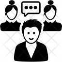 Intercommunication Icon