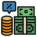 Interest Banking Cash Icon