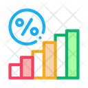 Interest Rising Statistics Icon