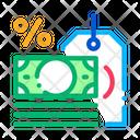 Interest Is Money Icon