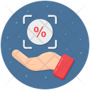Interest Rate Savings Sale Icon