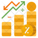 Interestrate Interest Financial Profit Rate Icon