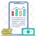 Interest Rate Benefit Rate Data Analytics Icon