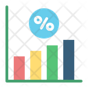 Interest Rate Coin Money Icon