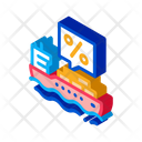 Interest Transportation Business Icon