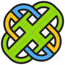 Interlinked Sign Icon