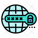Password Protection Lock Icon