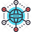 International Network Connection Icon