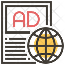 Global International Advertise Icon