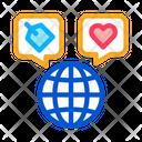 Globe Earth World Icon