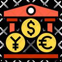 Money Coin Bank Icon