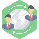 International Business Global Business Geolocation Icon