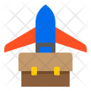 Airplane Bag Travel Icon