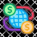Worldwide Financial Partnership Icon