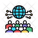 International Business Meetting Global Forum Business Icon