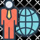 International Businessman International Businessman Icon