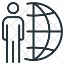 Freelance Internet Outsource Icon