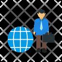 International Businessman Human Icon