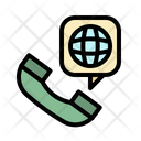 Call International Phone Icon