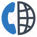 Conference Call Global Icon