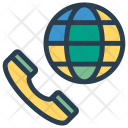 International Call Call Phone Icon