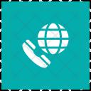 International Call Call Phone Icon