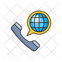 Call Phone Global Icon