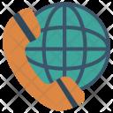 International Call Global Icon