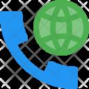 International Call Phone Icon