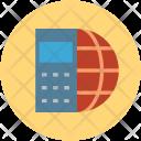 Globe Mobile World Icon
