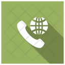 International Call World Global Icon