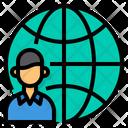 International Candidate Icon