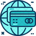 Travel Blue Credit Card Icon