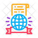 International Certificate Icon