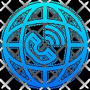 International Communication World Global Icon