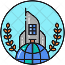International Corporation International Business Global Corporation Icon