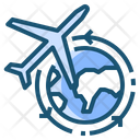Transport Delivery Flight Icon